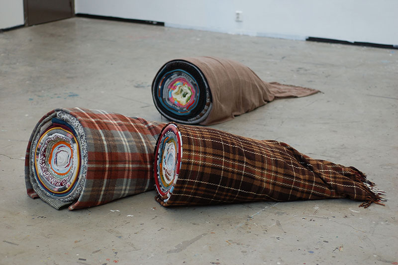 artwork:Blanket sculptures