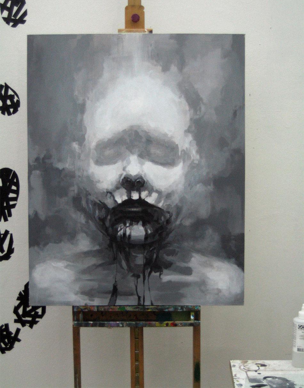 blogil painting it black